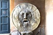 picture of mouth  - Bocca della Verita - JPG