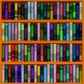 Bookshelf Generated Hi-res Texture