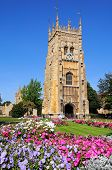 Abbey clock tower, Evesham.