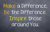 Make and Be the Difference