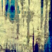 Art grunge vintage textured background. With different color patterns: gray; blue; cyan; yellow (beige); brown