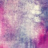 Antique grunge background with space for text or image. With different color patterns: gray; blue; purple (violet); pink