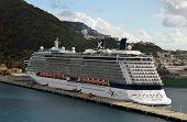 Celebrity Reflection Arrived In St Maarten