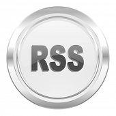 rss metallic icon