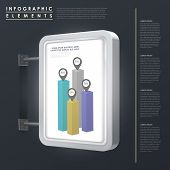 Marketing Concept Infographic Template Design