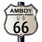 Amboy Route 66 Sign