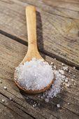 Salt On Spoon