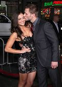 LOS ANGELES - FEB 08:  JAKE PAVELKA & DATE arrives to the