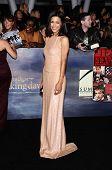 LOS ANGELES - NOV 11:  Julia Jones arrives to the