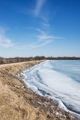 Ice On The Shoreline