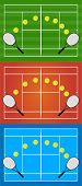 Tennis Illustrations