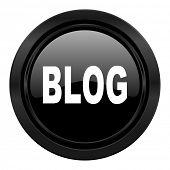 blog black icon