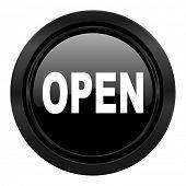open black icon