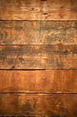 Textured And Weathered Old Wooden Boards