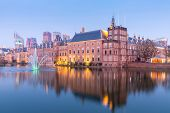 picture of prime-minister  - Binnenhof palace - JPG