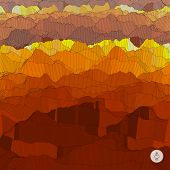 pic of magma  - Abstract landscape background - JPG
