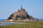 Saint Mont Michel, Medieval Abbey In France poster