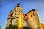 image of chateau  - The Chateau de Montbeliard  - JPG