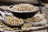 picture of soya beans  - Soy Beans  - JPG