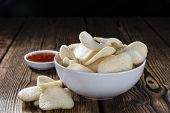 foto of chinese crackers  - Prawn Crackers  - JPG