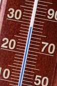 image of fahrenheit thermometer  - Thermometer  - JPG