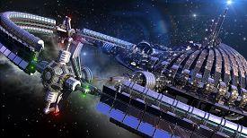 foto of spaceships  - Alien spaceship - JPG
