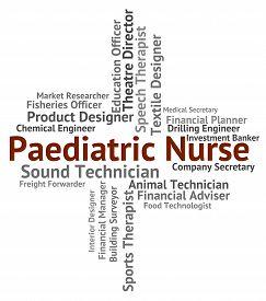 picture of matron  - Paediatric Nurse Showing Nurses Caregiver And Recruitment - JPG