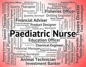 image of matron  - Paediatric Nurse Representing Kid Therapist And Paediatrics - JPG