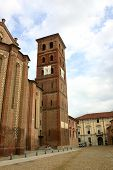 Medieval Cathedral Asti, Italy poster