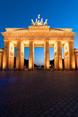 Brandenburger Tor On Edge