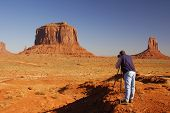 Photographing Monument Valley 1 poster