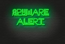 stock photo of spyware  - writing words  - JPG