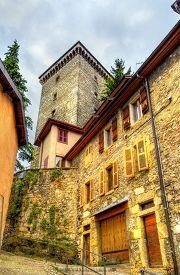 foto of annecy  - View of Chateau d