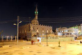 stock photo of amman  - Abu Darweesh Mosque Amman  - JPG