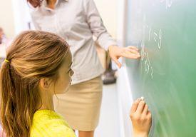 foto of schoolgirl  - education - JPG