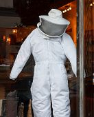 Beekeepers Suit In Store Window