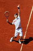 Novak Djokovic (srb) At Roland Garros 2011