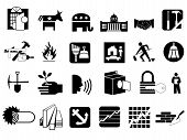 stock photo of pick-lock  - Icons collection  - JPG