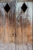 Weathered Wooden Doors