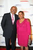 NEW YORK - MAY 3: William Bey and Pamela El attend the New York Gala benefiting the Steve Harvey Fou