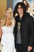 NEW YORK - MAY 24: Howard Stern and Beth Ostrowsky attend the premiere of