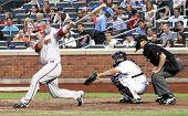 FLUSHING - JULY 30: Arizona Diamondbacks third baseman Mark Reynolds plays baseball at CitiField Park against the New York Mets on July 30, 2010 in Flushing, New York.