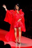 NEW YORK - FEBRUARY 9: Singer Patti LaBelle walks the runway for the Heart Truth's Red Dress Collection during Mercedes-Benz Fashion Week at Lincoln Center on February 9, 2011 in New York City.
