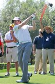 ORLANDO, FL - MARCH 23: Joe Don Rooney from Rascal Flatts during practice round at the Arnold Palmer