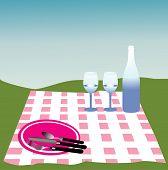 Постер, плакат: пикник вектор