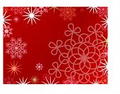 christmas frame vector series red