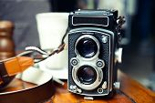 Old School TLR Camera