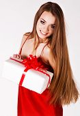 A Beautiful Young Girl With A Gift