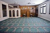 Small Mosque Interior
