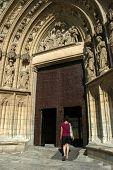 Tourist In Church
